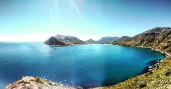 View of Hout Bay from Chapman's Peak