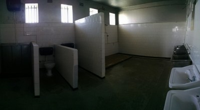 Prison dorm room bathroom
