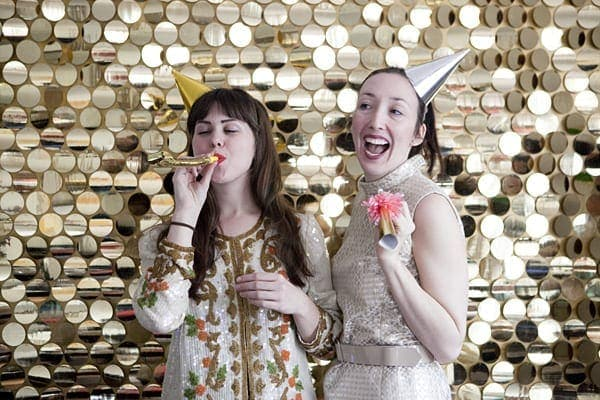 Sequined Photo Booth Backdrop