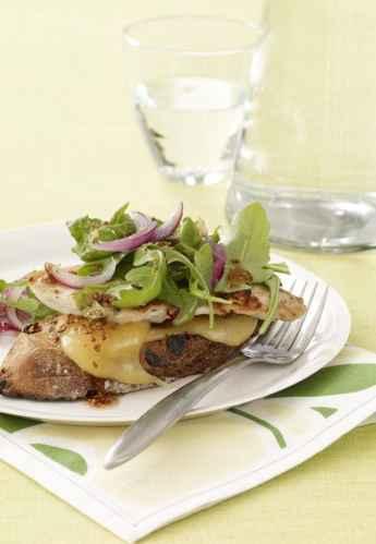 Chicken and Gouda Melt Sandwich