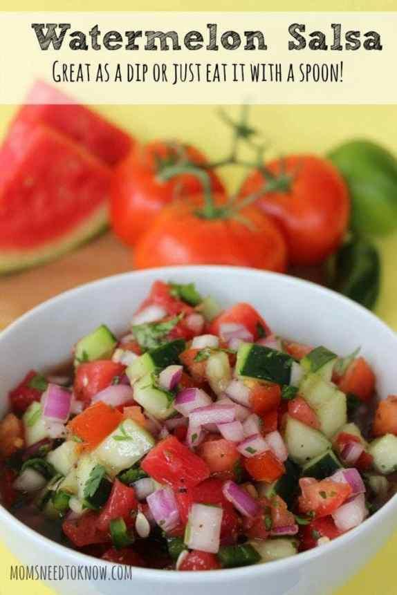 Easy Watermelon Salsa