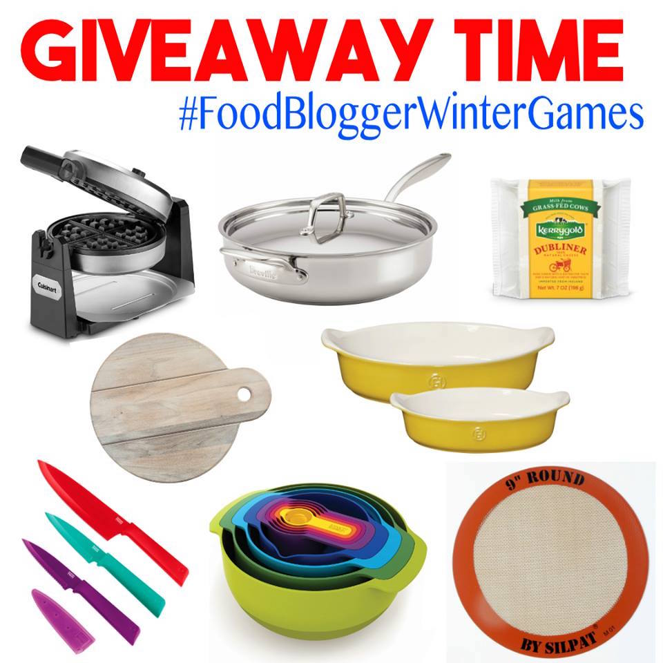 2018 Winter Games food blogger giveaway