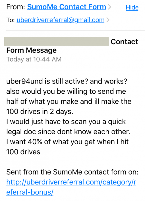 Uber Entitlement Convo 1