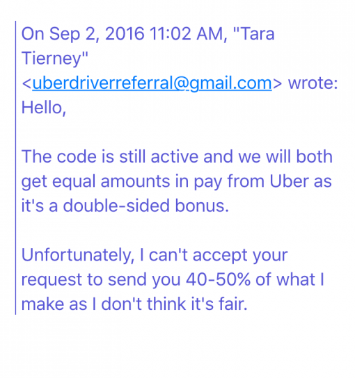 Uber Entitlement Convo 2