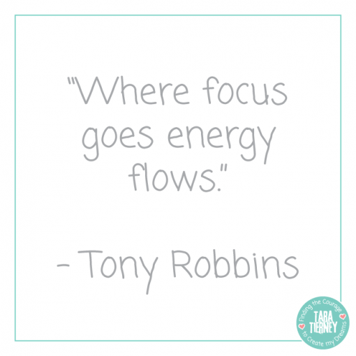 Where Focus Goes Energy Flows | Tara Tierney