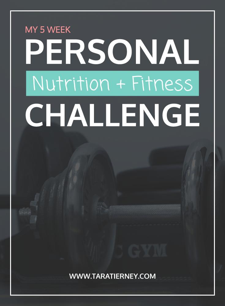 Nutrition Fitness Challenge | Tara Tierney