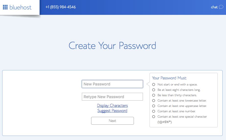 Create Your Password | Tara Tierney