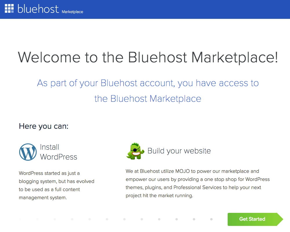 Bluehost Marketplace | Tara Tierney