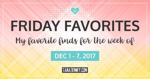 Friday Favorites #1