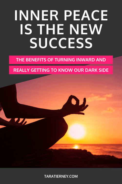 Inner Peace is the New Success - The Benefits of Turning Inward