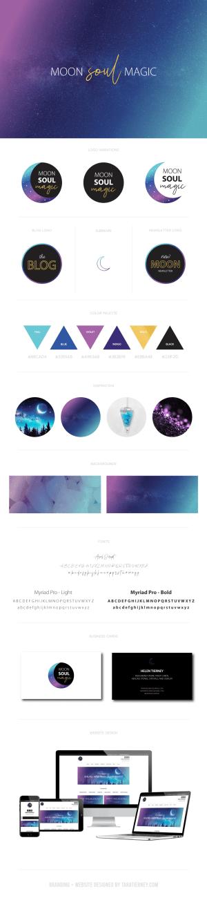 Branding Board - Moon Soul Magic