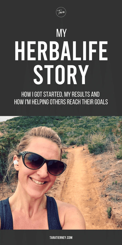 My Herbalife Story - Tara Tierney - PIN