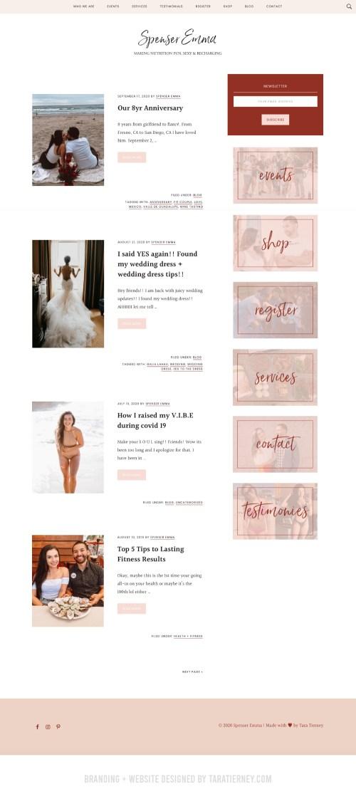 Blog Page Spenser Emma