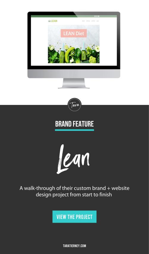 Brand + Website Feature - Lean