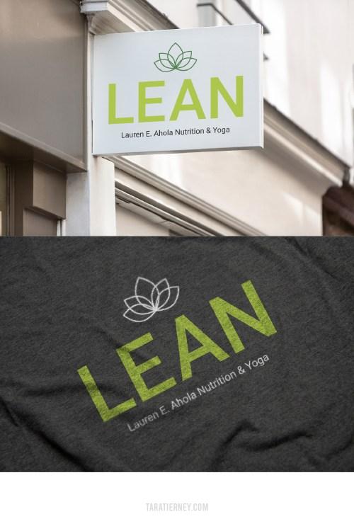 Lean Logo Mockups