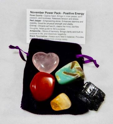 November Power Pack - Positive Energy