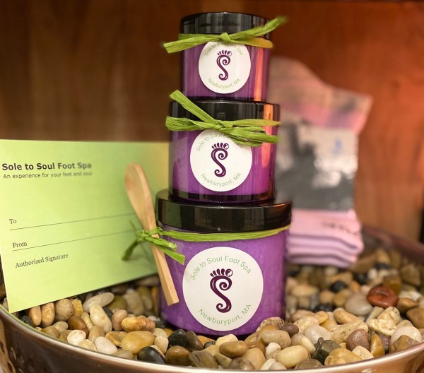 Sole to Soul Foot Spa - Foot + Hand Balm, Foot + Body Scrub, Bombs, Soaking Salts