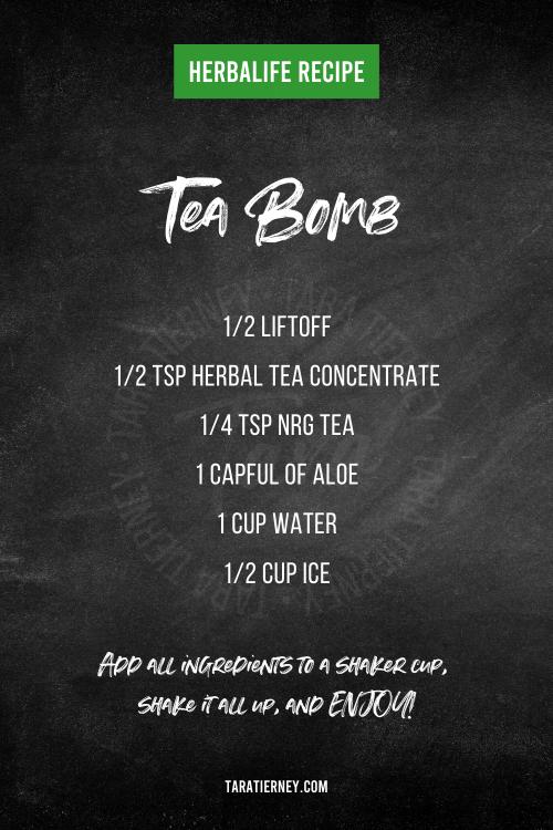 Herbalife Tea Bomb Recipe