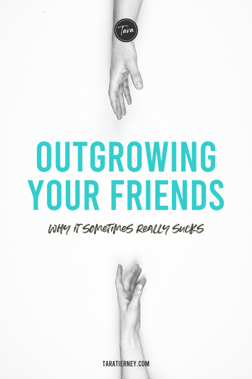 Outgrowing your friends - why it sometimes really sucks