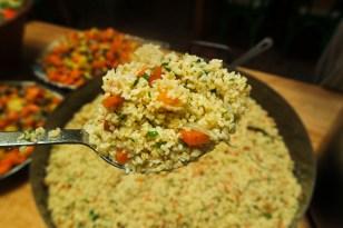 Bulghur Pilaf (we used quinoa for gluten free folks)