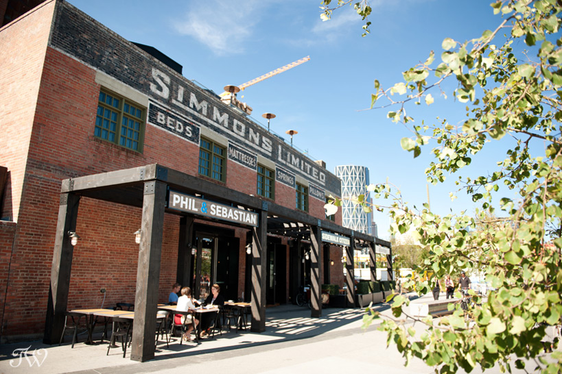 Simmons building in Calgary's East Village captured by Tara Whittaker Photography