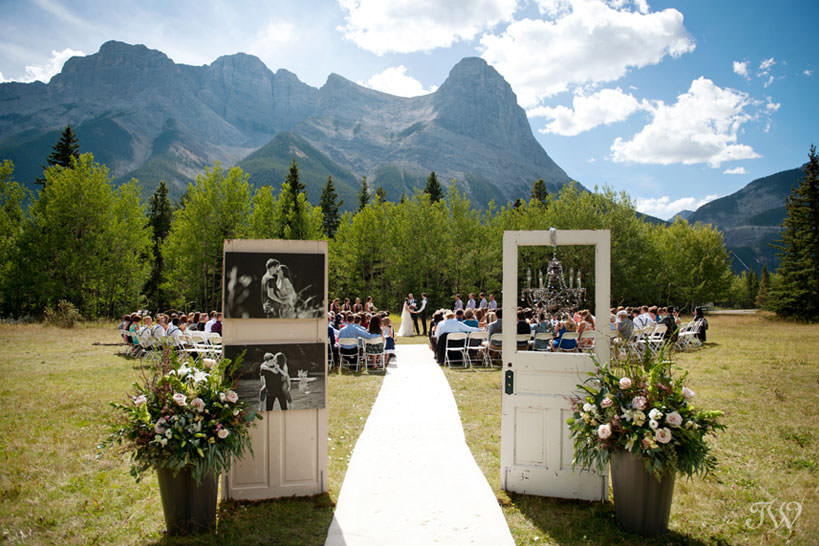Canmore wedding locations Rundleview Parkette captured by Tara Whittaker Photography