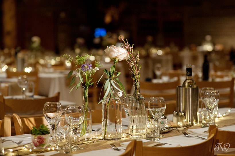 Details at a Cornerstone Theatre reception captured by Tara Whittaker Photography