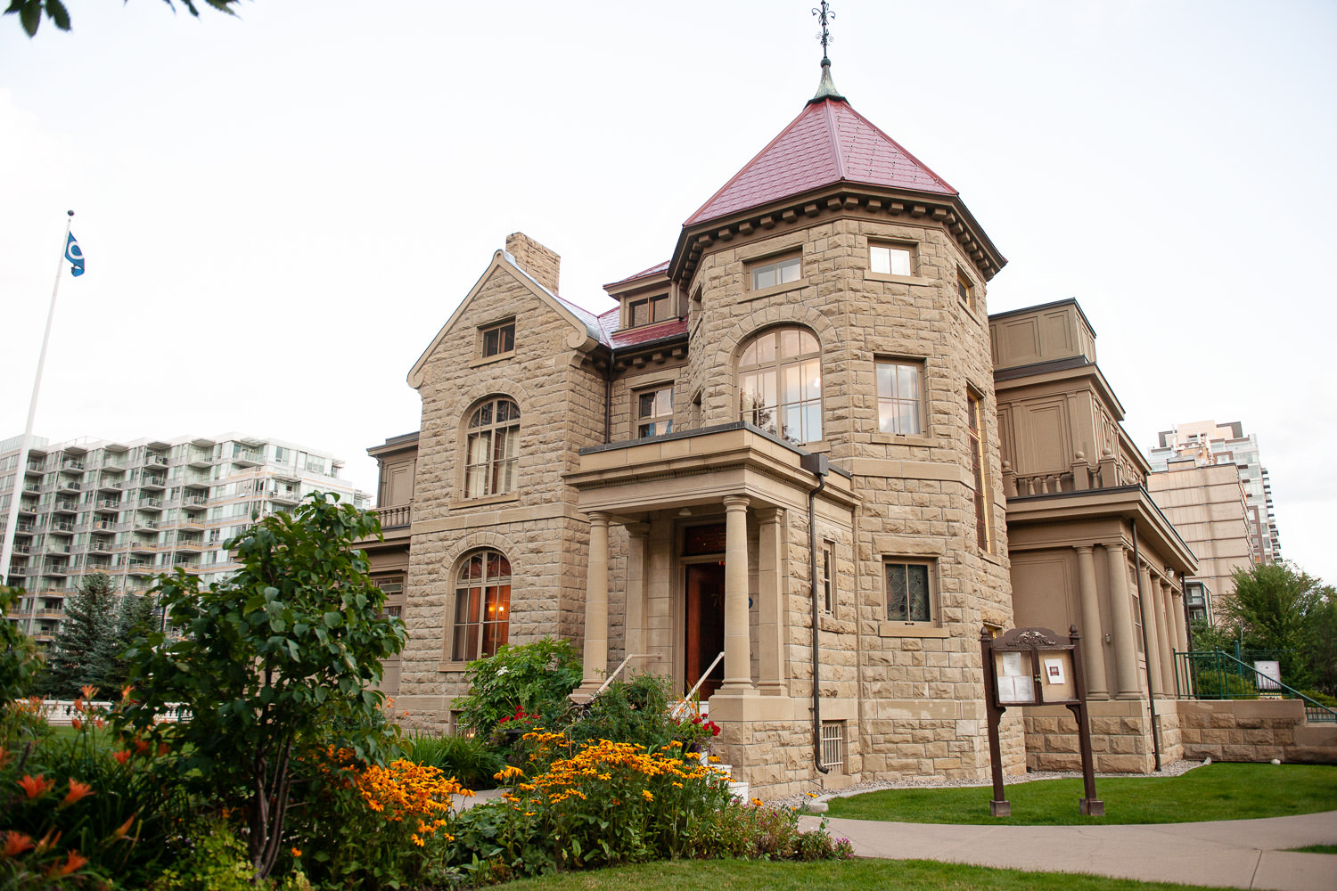 Lougheed House one of Calgary's best wedding venues captured by Tara Whittaker Photography