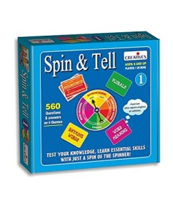 Creative Educational Creative Games Spin and Tell 1