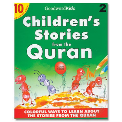 Children's Stories from the Quran Coloring Books by GoodWordKidz