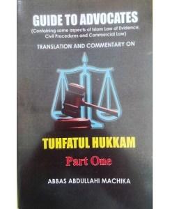 Guide to Advocates Tuhfatul Hukkam