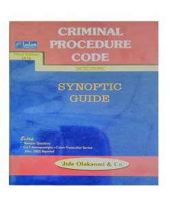 CRIMINAL PROCEDURE CODE: SYNOPTIC GUIDE