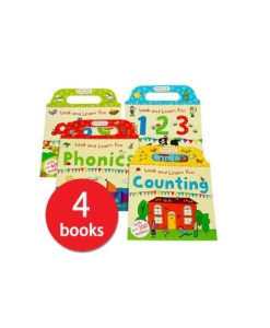 Look and Learn Fun Collection - 4 Books (Collection)