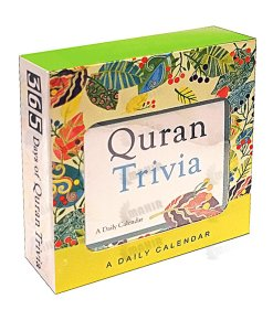 Quran Trivia : A Daily Desktop Calendar (Saniyasnain Khan) - Perpetual, lifetime use