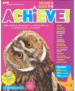 Achieve! Grade 2: Think. Play. Achieve!
