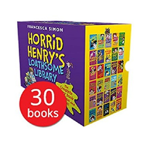 Horrid Henry's Loathsome Library Collection 30 Books