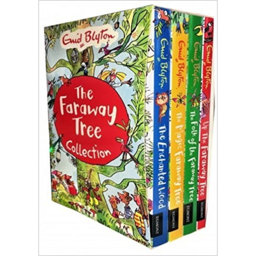 New The Magic Faraway Tree Collection 4 Books Set Pack