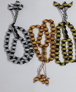 Assortments (Precious Stone) Prayer Tasbih/Beads in Counts of 33