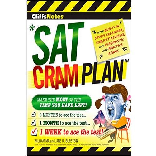 CliffsNotes SAT Cram Plan (Cliffsnotes Cram Plan) 1st Edition