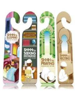 Shhh… I'm Seeking Knowledge & Praying (4 Set)