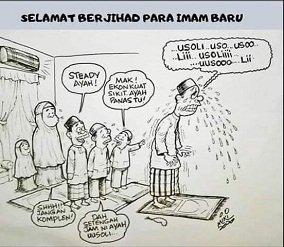 Makmum yang Mencemaskan Imam