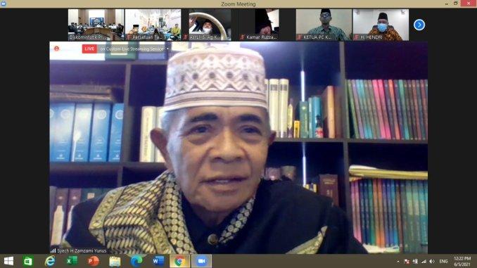 Inyiak Canduang di Mata Abuya H. Zamzami Yunus Lasi (Murid Langsung Syekh Sulaiman Arrasuli)