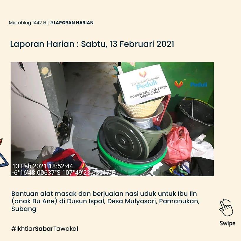laporan-harian-13-februari-2021-giat-tanggap-bencana-banjir-pamanukan-subang-2