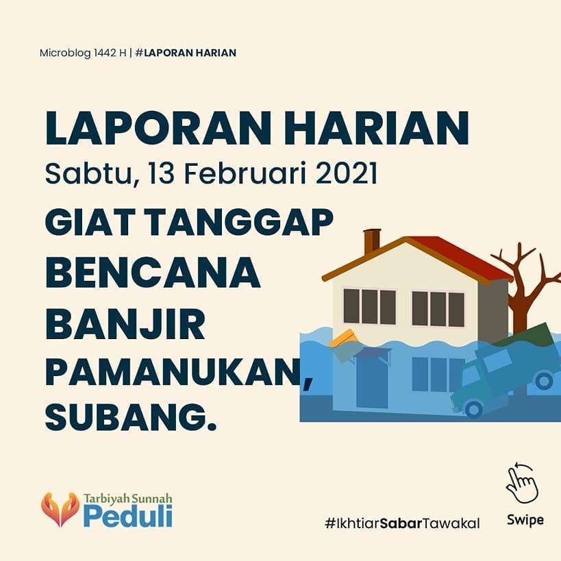 laporan-harian-13-februari-2021-giat-tanggap-bencana-banjir-pamanukan-subang-0