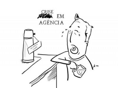 vida em agência - acabou o café