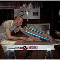 Maquinaria de la flexografía