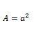 cuadrado formula