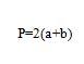 cuadrilongo formula perimetro