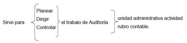 Programa especifico de auditoria