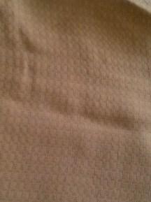 3 yds. cotton gauze (?)